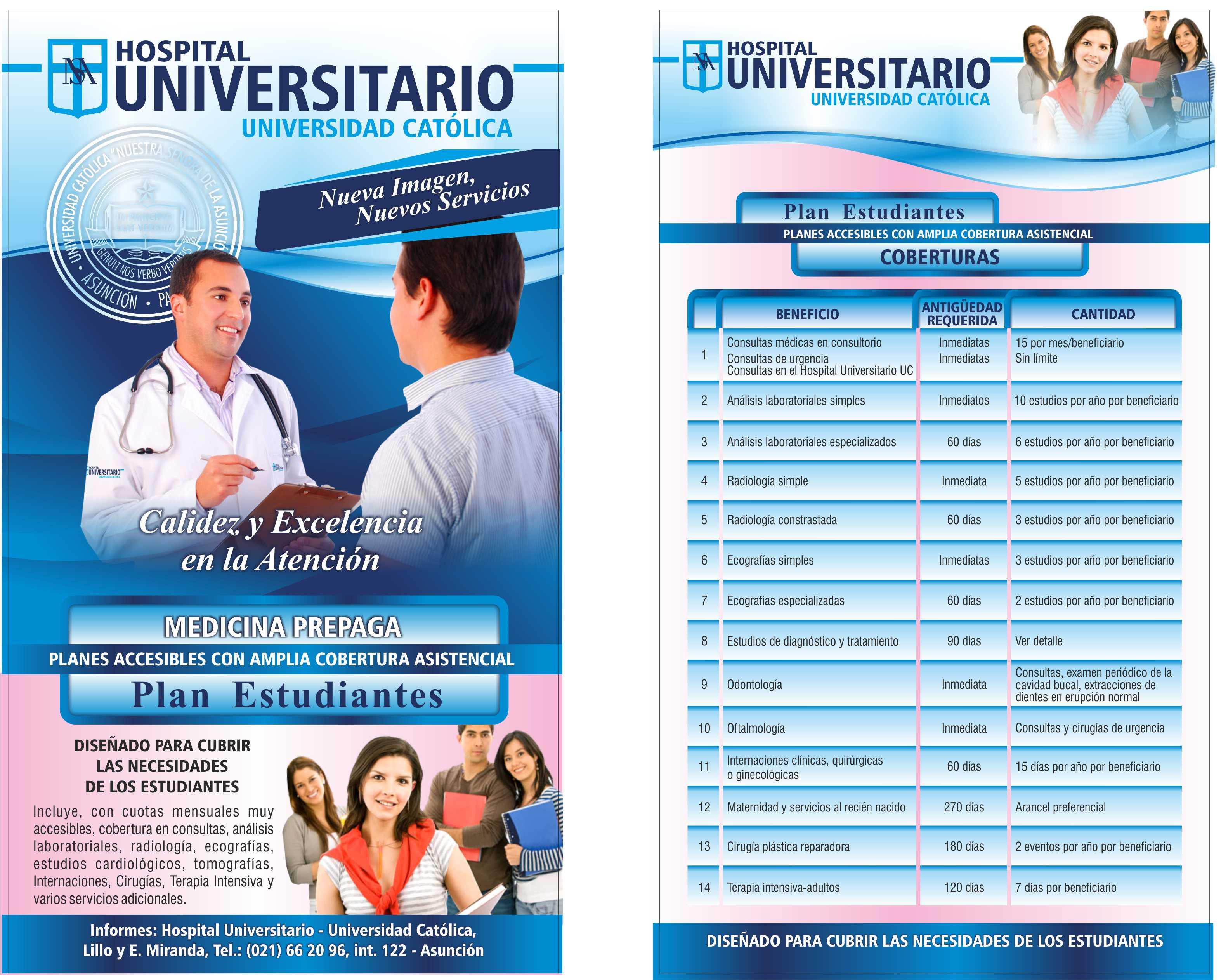 Mailing hospital universitario 2014